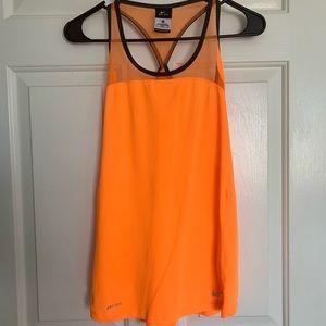 Neon Orange Nike Dri- Fit tank